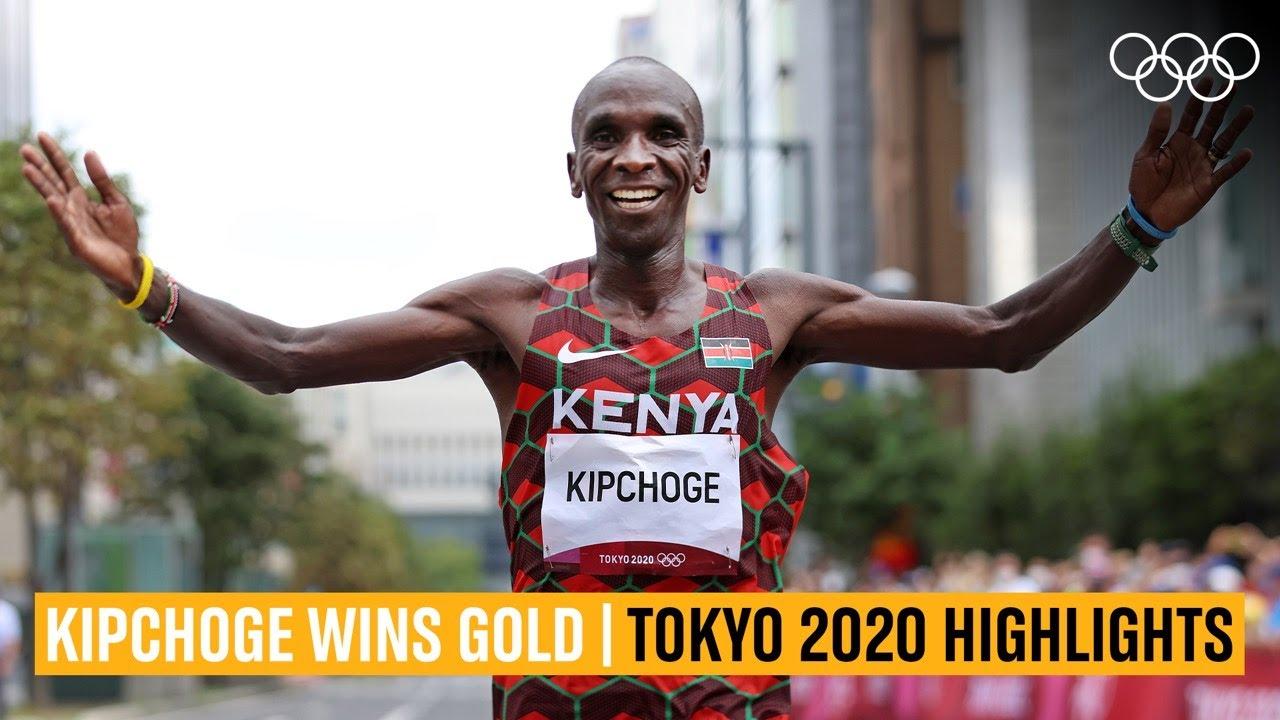 Kipchoge defends Olympic marathon title 🥇 | #Tokyo2020 Highlights