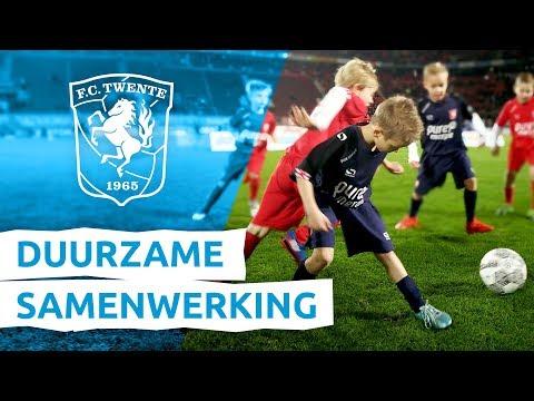 Pure Energie en de FC Twente Kidsclub, een duurzame samenwerking!
