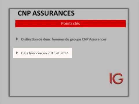 CNP ASSURANCES: honneur aux dames
