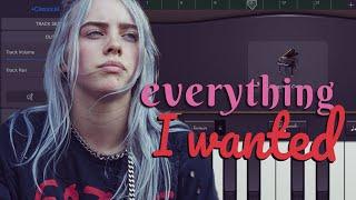 everything i wanted // Billie Eilish // GarageBand Tutorial