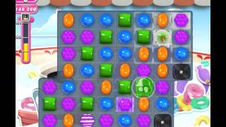 Candy Crush Level 607 - Double Chocolates, how to move frog, Frogtastic!