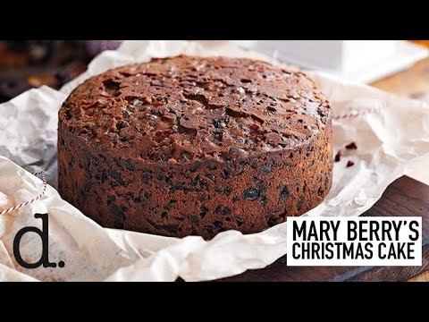 Mary Berry S Rich Fruit Christmas Cake Recipe Delicious Magazine