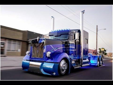 Worlds most custom  Kenworth 900 built by Texas Chrome Trucks!
