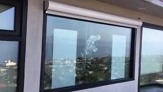 Exterior Motorized Shades Laguna Beach