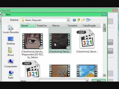 Converter Vídeos para avi,mp4,mpeg e etc....