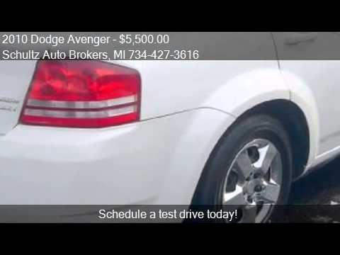2010 Dodge Avenger for sale in Livonia, MI 48150 at the Schu