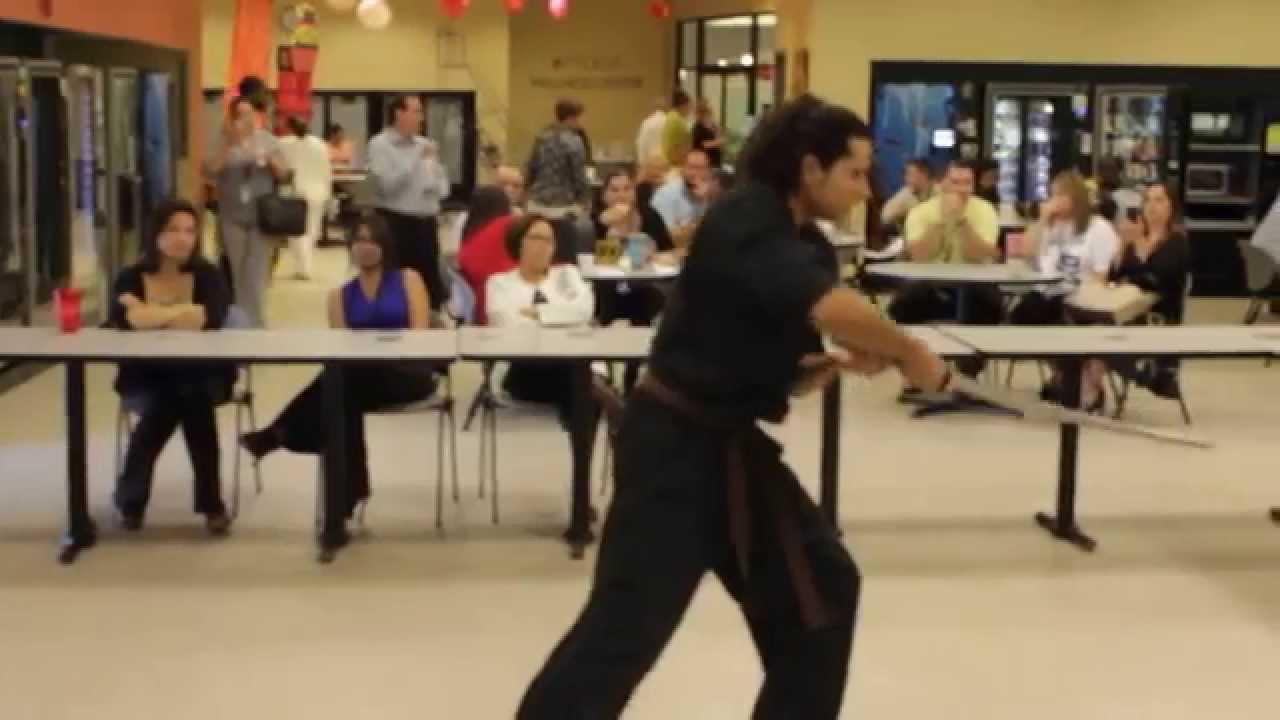 Hapkido Pinellas-Samurai Korean Sword Form Jamil
