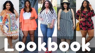 2018 Summer Plus Size Outfits / Dresses Fashion Trend | Summer Lookbook BBW