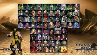 Mortal Kombat Armageddon Playthrough (Dolphin Wii Emulator) with download links