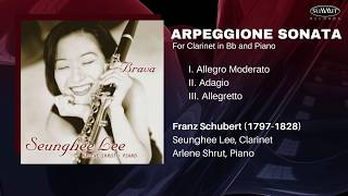 SCHUBERT Arpeggione Sonata in A Minor for Clarinet in Bb and Piano