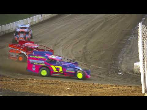 Modified heat 9/1/2018 Pit View, Woodhull Raceway