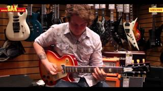 Gibson - 2014 Les Paul Peace Min-ETune Demo at GAK