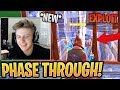 Symfuhny Shows *NEW* Phase Through Walls EXPLOIT! - Fortnite Best and Funny Moments