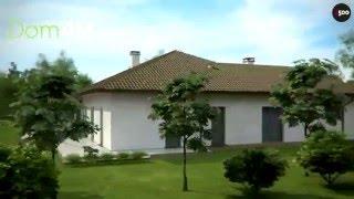 видео Проект кирпичного двухэтажного дома площадью 386.90 м2