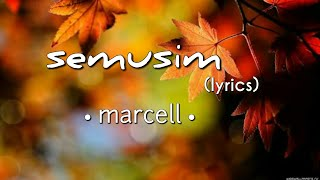 Download lagu Semusim - Marcell (lyrics)