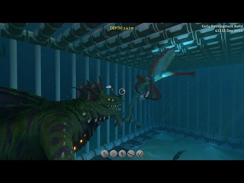 Subnautica   Reaper Leviathan killed a Sea Dragon