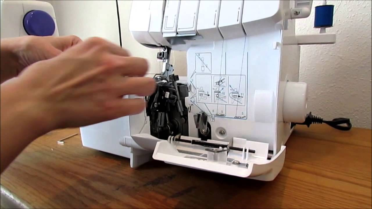 brother m1034d overlocker sewing machine