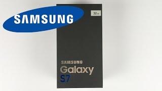 Samsung Galaxy S7 білий перли анбоксинг