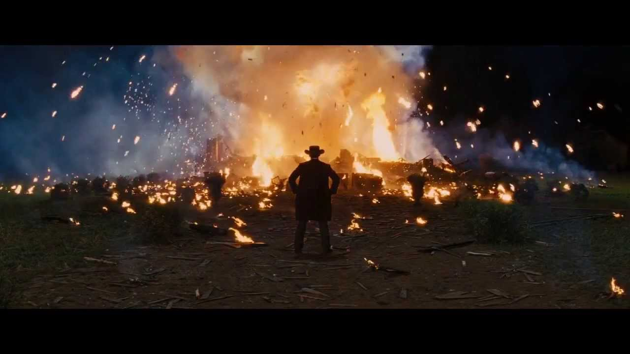 Real Cool Guys Do Look at Explosions - Django Unchained ...