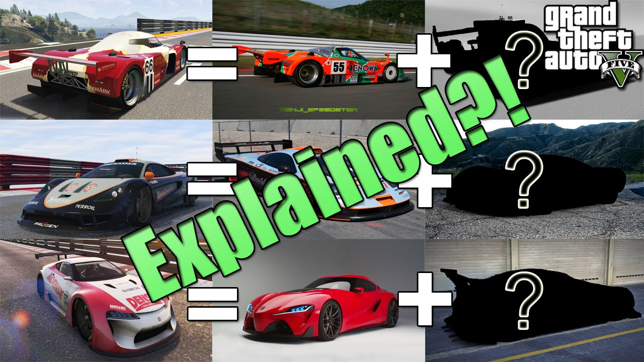 Supercars Explained!! (RE7B, Tyrus & ETR1)