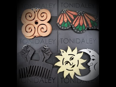 Toni Daley earring collection