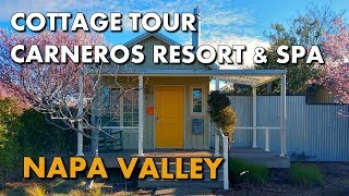 NAPA'S BEST LUXURY HOTEL - Cottage Tour at Carneros Resort & Spa