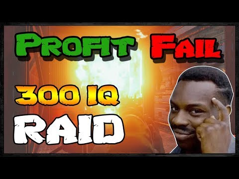 300 IQ RAID - Profit or Fail #45 | Rust Raids Vanilla