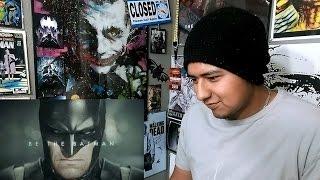 Live-Action BATMAN: ARKHAM KNIGHT Trailer REACTION!!!