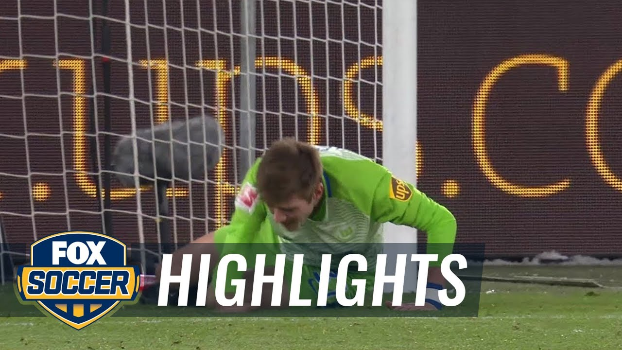 schalke wolfsburg highlights