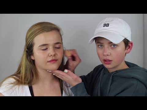 I DO MY SISTERS MAKEUP! Makeup Transformation