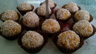 How To Make Carrot-coconut Balls? A Healthy, Easy, Cheap And Delicious Dessert!