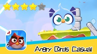 Angry Birds Casual Level 57 Walkthrough Sling birds to solve puzzles! Recommend index four stars
