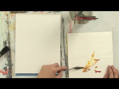 How to Make Flesh Tone Acrylic Paint : Art Lessons