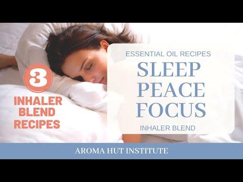 Essential Oils for Sleep and Restful Sleep    Essential Oils for Mental Health   Inhaler Blends