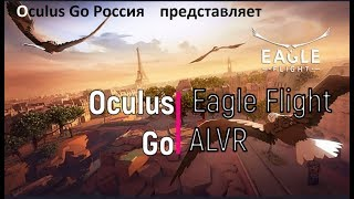 Oculus Go : Eagle Flight . Пролетая над гнездом кукушки.