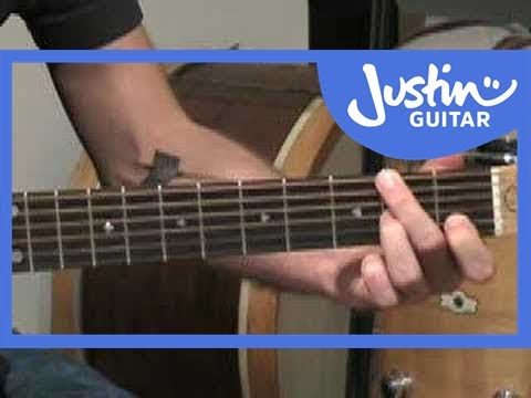 Silent Night for Solo Guitar (Songs Guitar Lesson ST-100) How to play