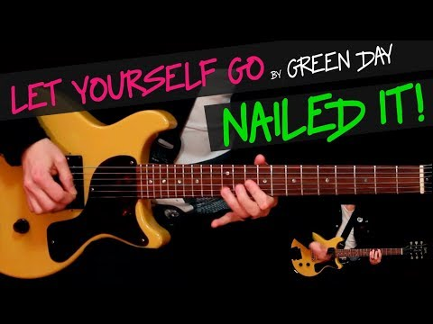 Let Yourself Go - Green Day guitar cover by GV +chords