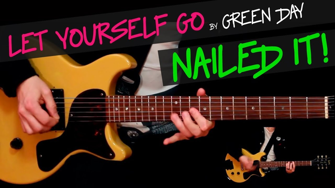 let yourself go green day guitar cover by gv chords youtube. Black Bedroom Furniture Sets. Home Design Ideas