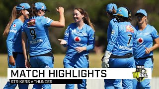 Devine strikes down Thunder in Wollongong | Rebel WBBL|05
