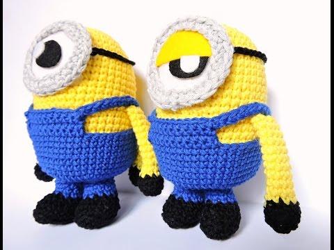 Amigurumi Minion Deutsch : Gorro de ganchillo facil punto pina - Crochet Hat Puff ...