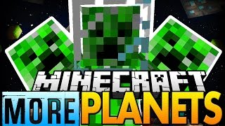 Minecraft Mod | MORE PLANETS MOD 2! (Space Mobs, Bosses, and More!) - Mod Showcase