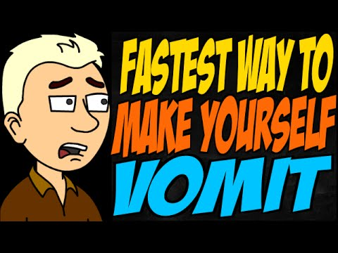 Fastest Way to Make Yourself Vomit