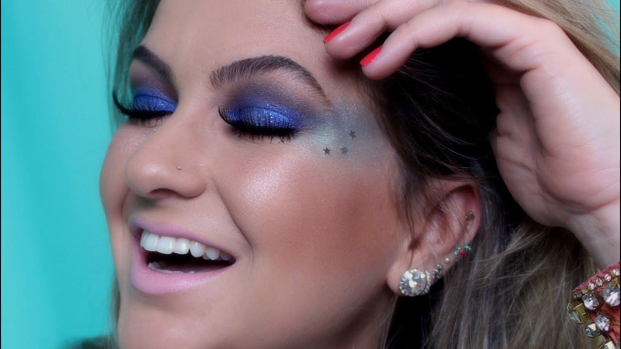 Maquiagem para carnaval de rua