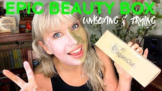 EPIC Beauty Box Unboxing & Trying