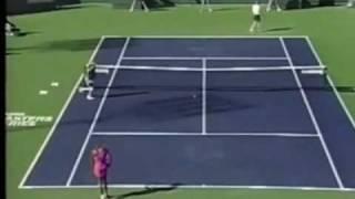 Serena Williams vs Kim Clijsters 2001 Indian Wells Highlights