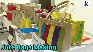Jute Bags Making - An Income Generating Activity.,