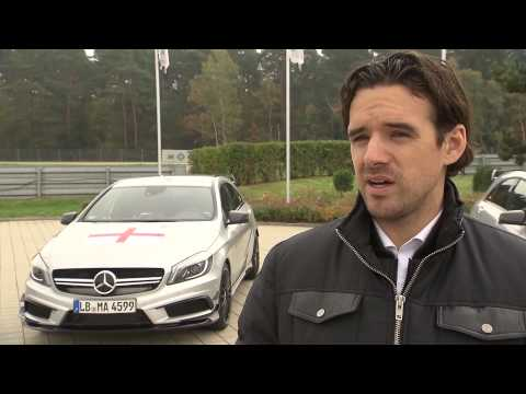 Mercedes-Benz Nations Challenge - Interview with Owen Hargreaves | AutoMotoTV