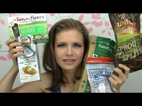 Vitacost Haul: Organic Healthy Snacks