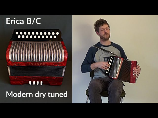 Dry modern sounding Hohner Erica in B/C