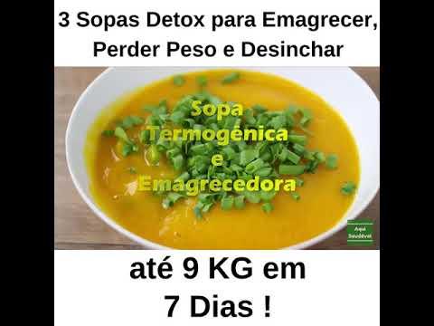 Sopa quemagrasas 7 dias